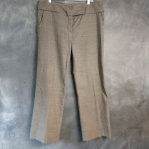 AGB | Brown Wide Leg Career Stretch Trousers Sz 14